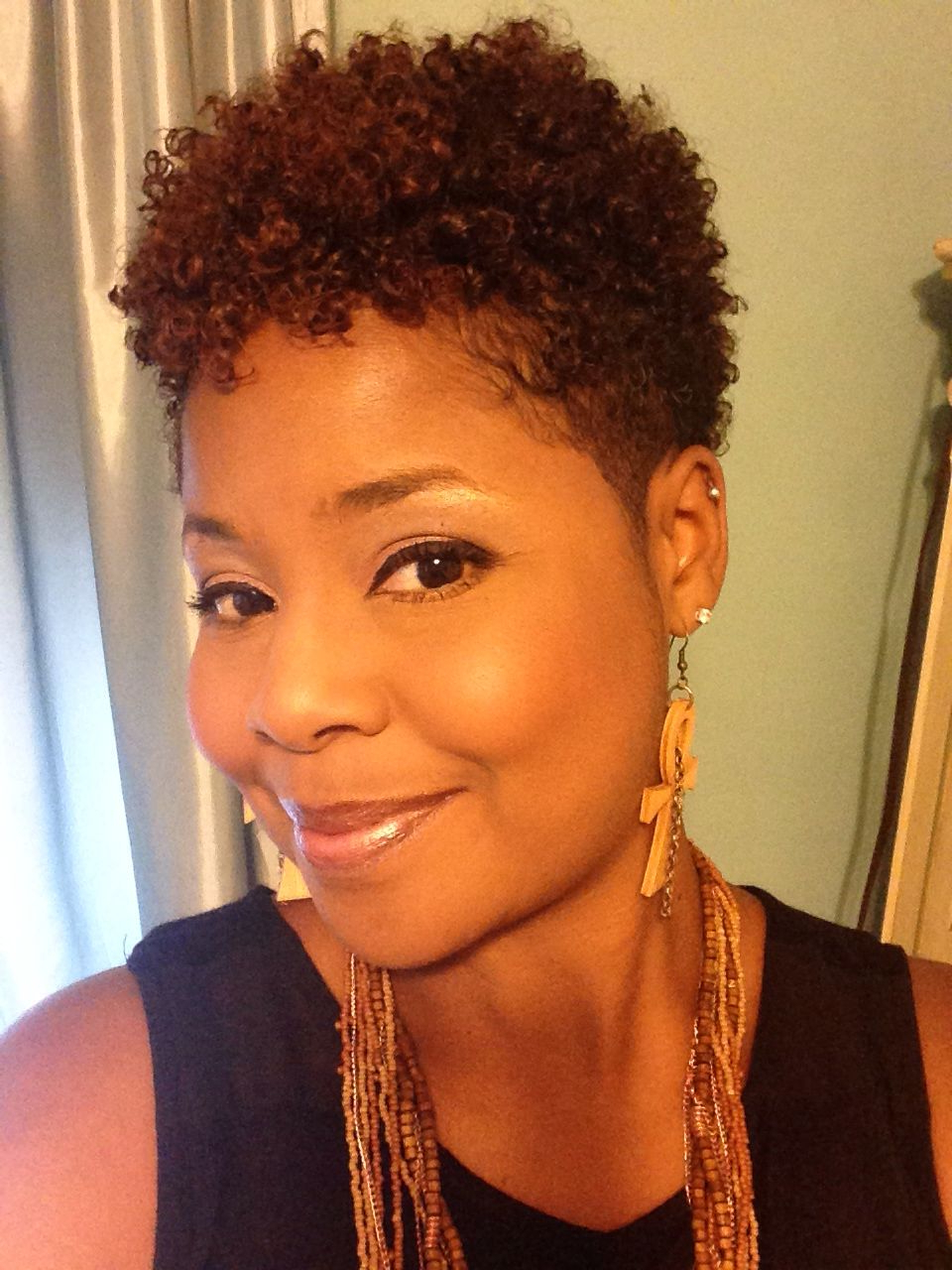 Pin On The Natural Hair Monologues! Look Ma No Relaxer! Intended For Trendy Gray Faux Hawk Hairstyles (View 8 of 20)