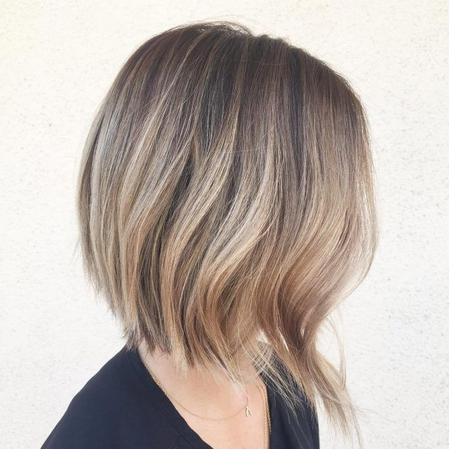 Pin On Tres Belle For Bronde Balayage For Short Layered Haircuts (View 14 of 20)