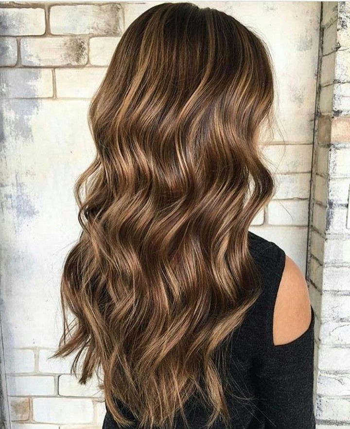 Pinainsley Martinez On Coiffure   Balayage Hair, Brown Pertaining To Beachy Waves Hairstyles With Balayage Ombre (View 2 of 20)