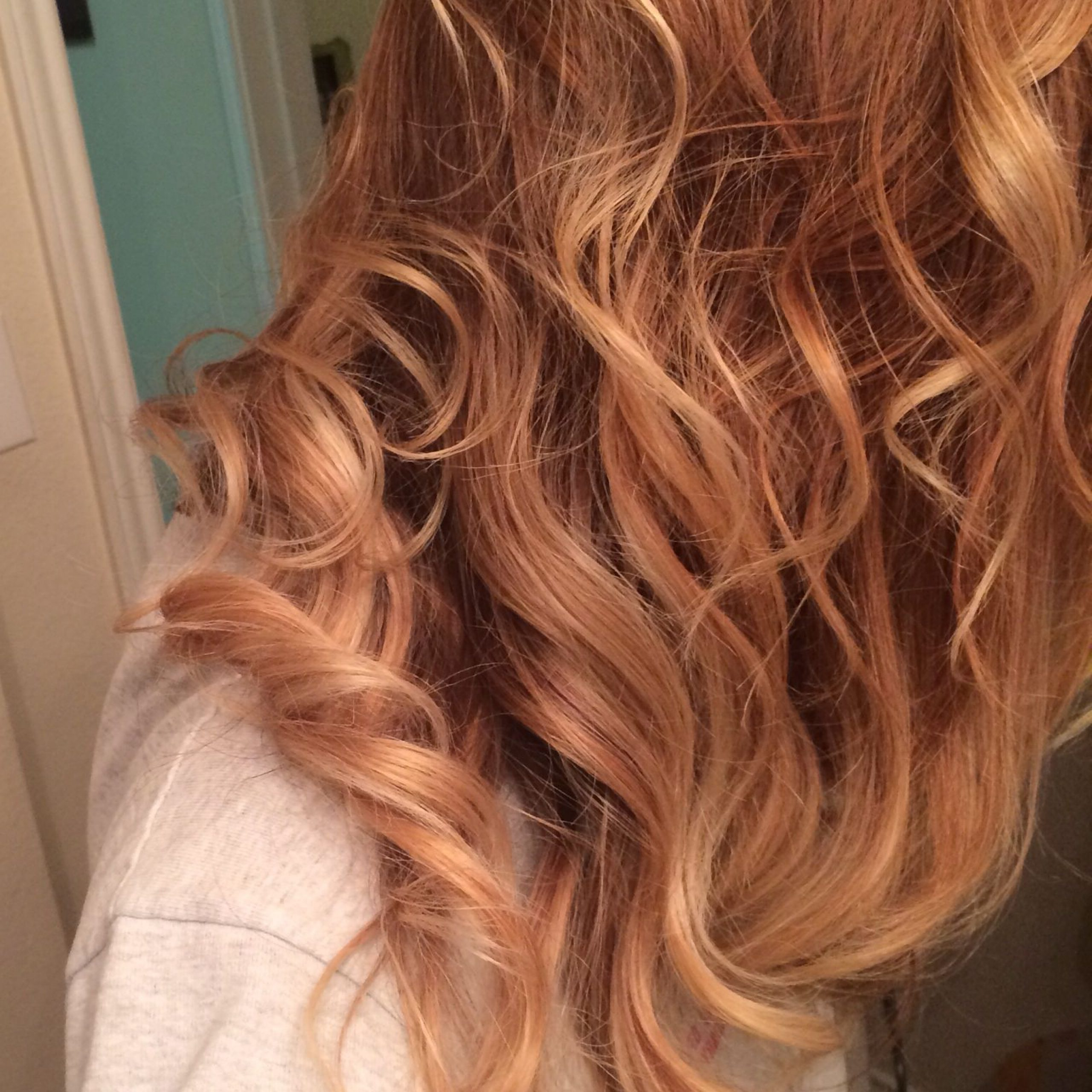Pinemily Nelms On Lehair | Strawberry Hair, Hair Intended For Marsala To Strawberry Blonde Ombre Hairstyles (Gallery 17 of 20)