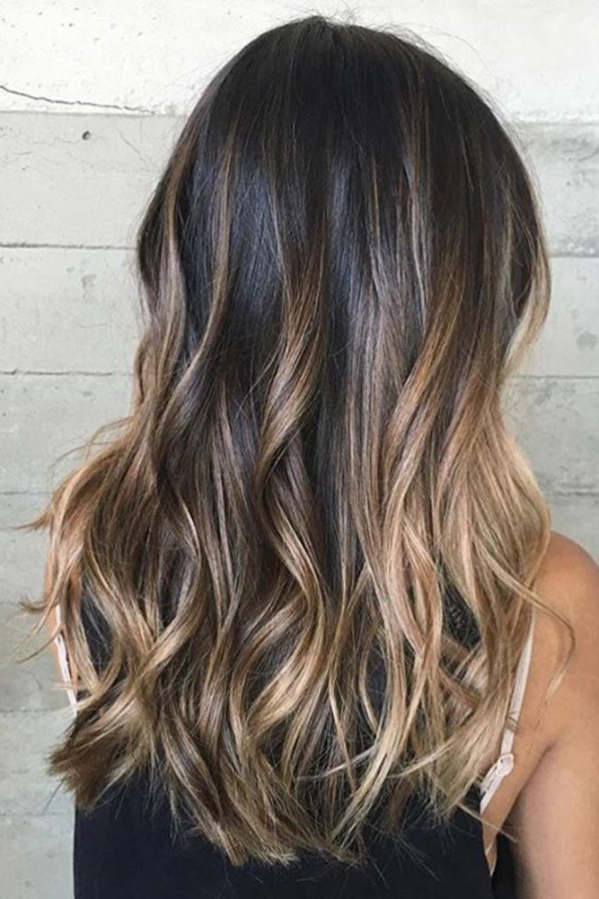 Pinkandy Shull On Hair And Beauty | Brown Ombre Hair Inside Ash Blonde Balayage Ombre On Dark Hairstyles (View 2 of 20)