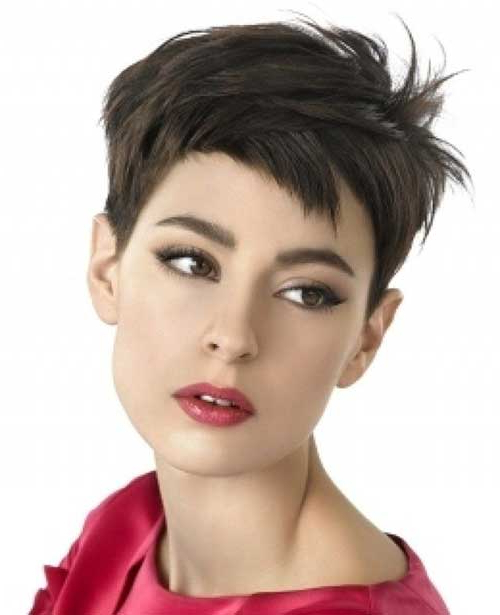 Pixie Cut – Haircut For Intended For Well Known Short And Choppy Graduated Pixie Haircuts (View 10 of 20)