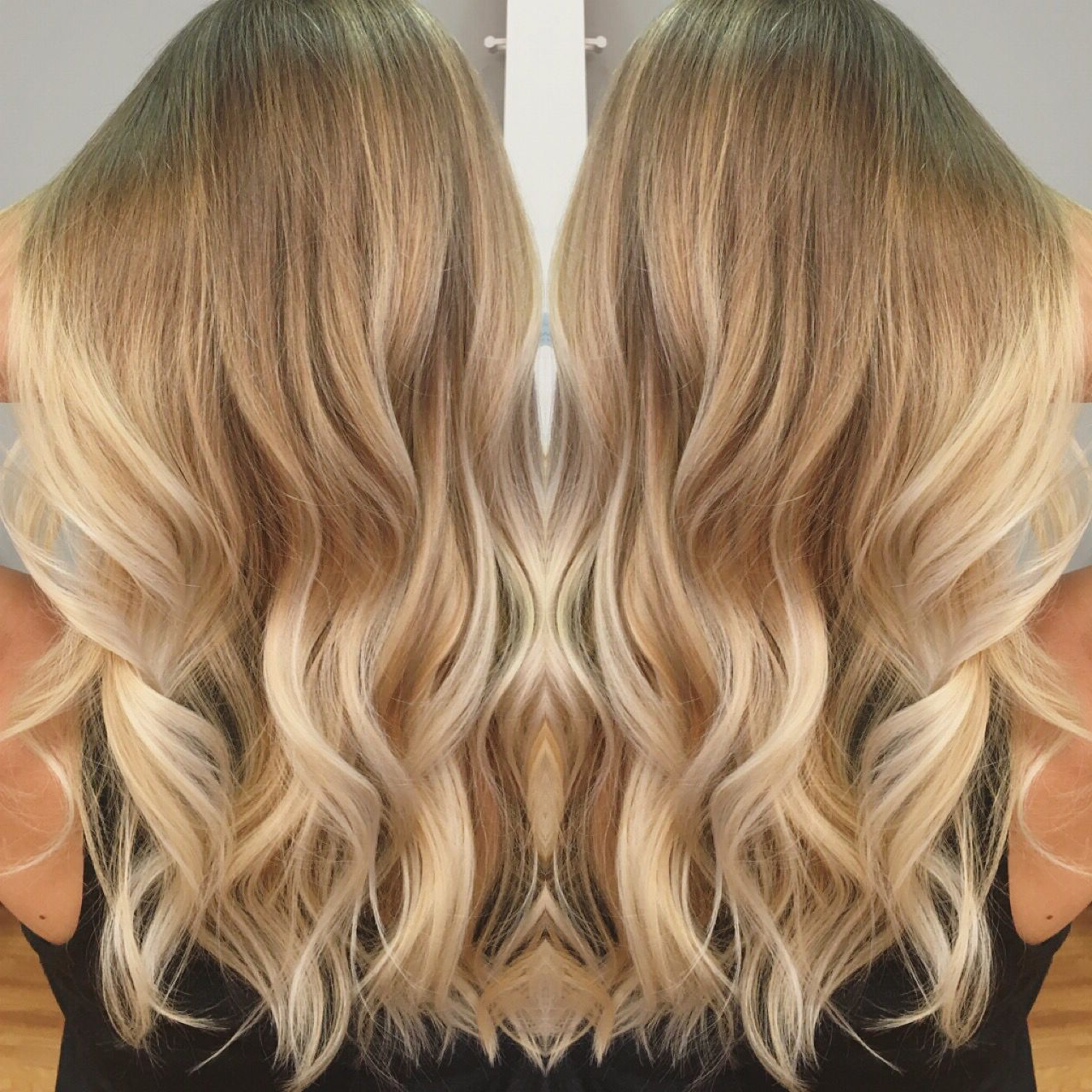 Platinum Ice Blonde Balayage By: Tanya Edmundson | Warm Inside Warm Blonde Balayage Hairstyles (View 17 of 20)