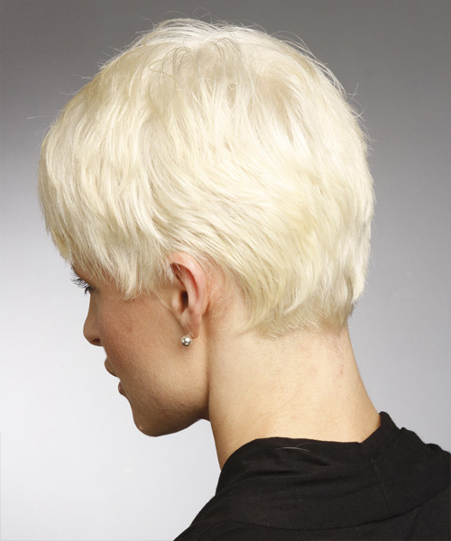 Platinum Pixie Cut With Side Swept Bangs Regarding Most Recent Platinum Blonde Pixie Hairstyles With Long Bangs (View 18 of 20)