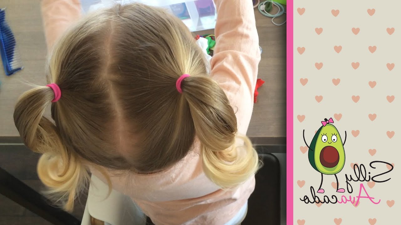 Ponytails – 6 Easy Back To School Ponytail Hairstyles For Within 2018 Baby Ponytails Hairstyles (View 14 of 20)