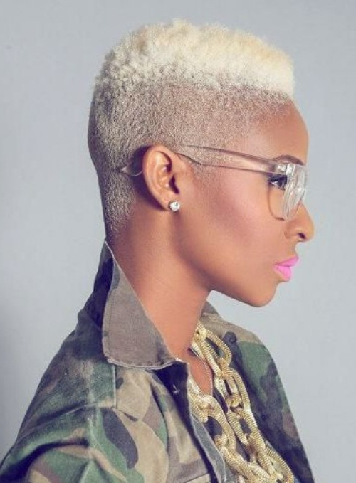 Popular Coral Mohawk Hairstyles With Undercut Design In 63 Superb Mohawk Hairstyles For Black Women – New Natural (View 14 of 20)