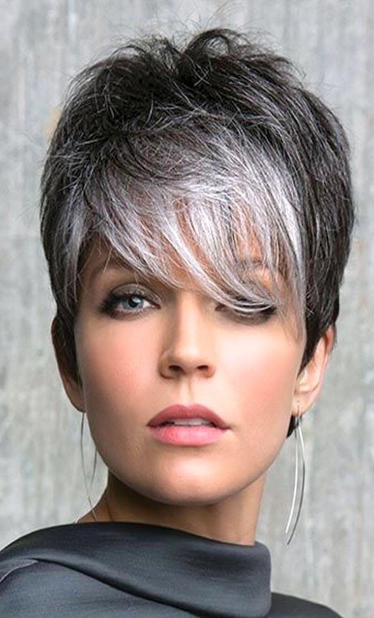 Popular Gray Short Pixie Cuts Regarding The 25+ Best Short Gray Hair Ideas On Pinterest (View 11 of 20)