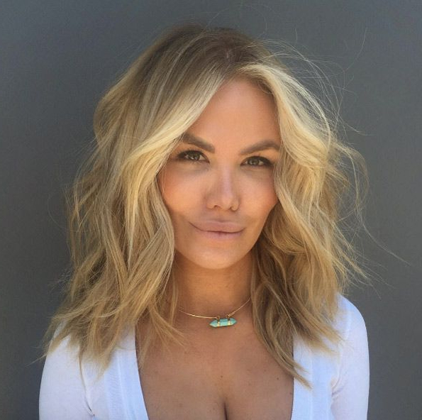 Popular Lob Hairstyles With A Face Framing Fringe Within Found On Google From Pinterest.co (View 10 of 20)