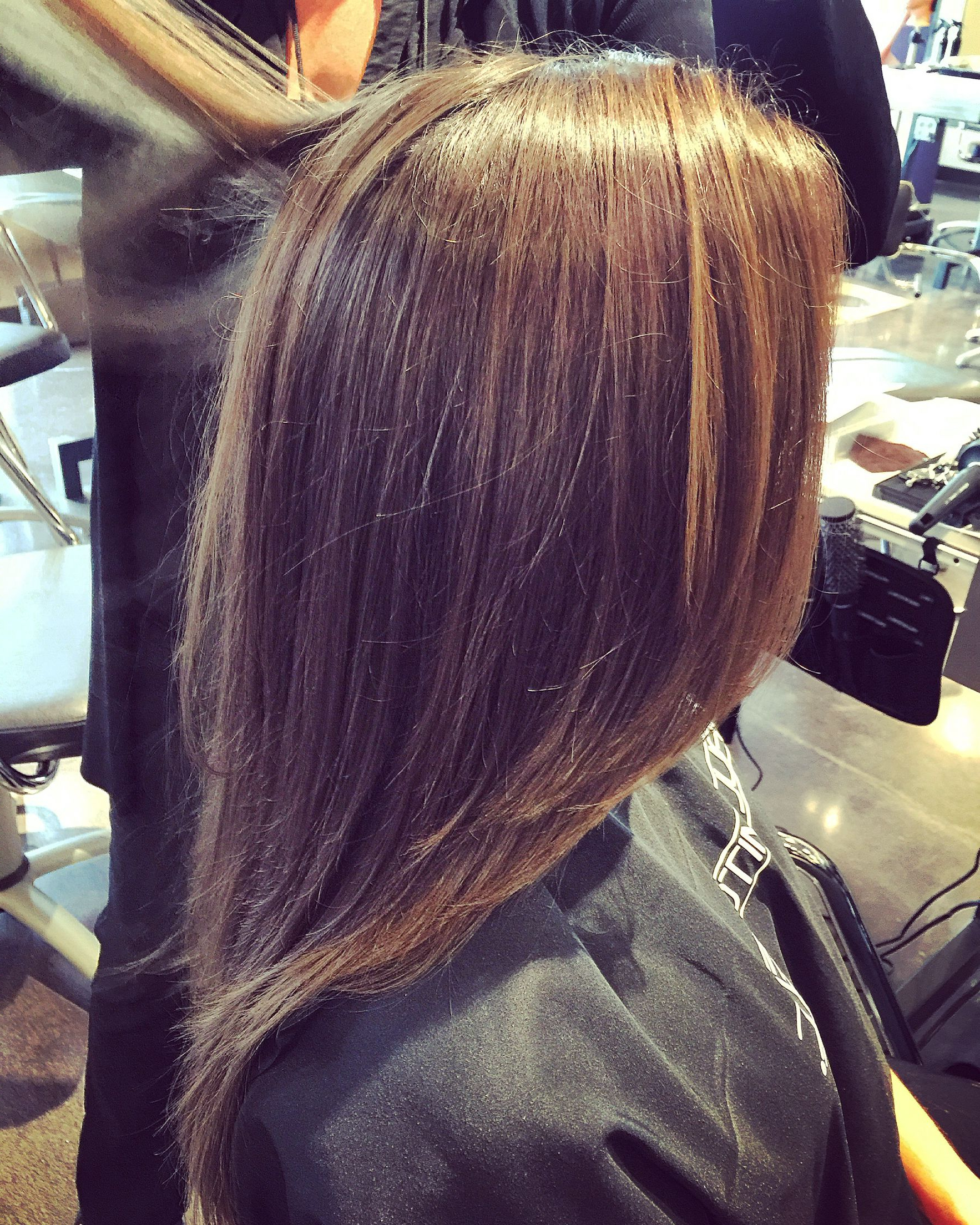 Popular Lob Hairstyles With Face Framing Layers Pertaining To Pin On My Portfolio (View 10 of 20)