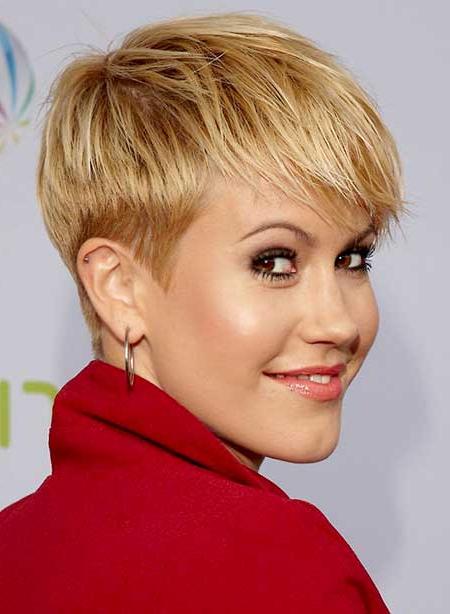 Popular Pixie Hairstyles With Sleek Undercut Inside 2016 Trendy Pixie Haircuts With Bangs – 2021 Haircuts (View 17 of 20)