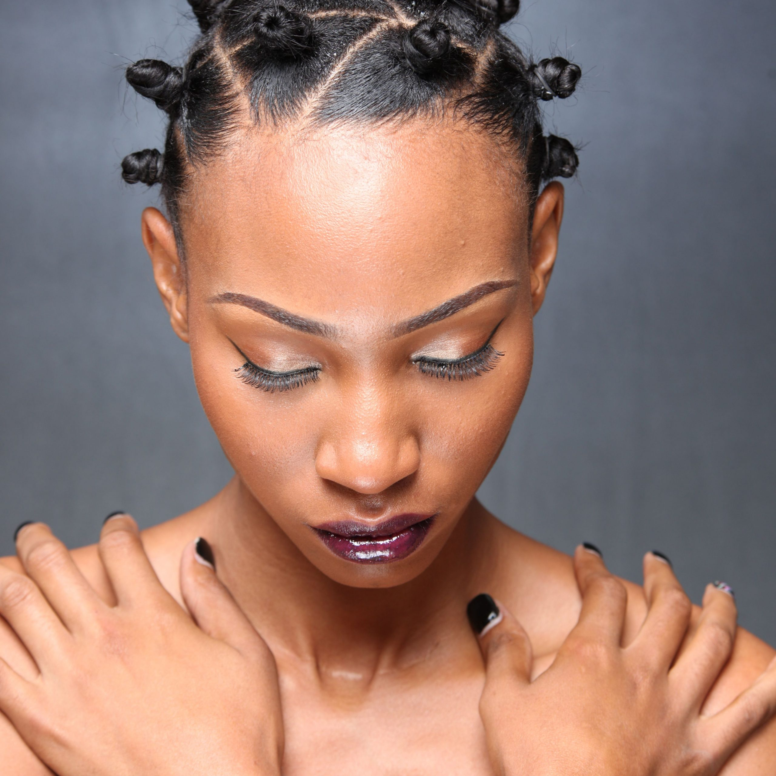 Preferred Bantu Knots Hairstyles Intended For Pin On Loc, Knot, Twist & Row (hair) (View 3 of 20)