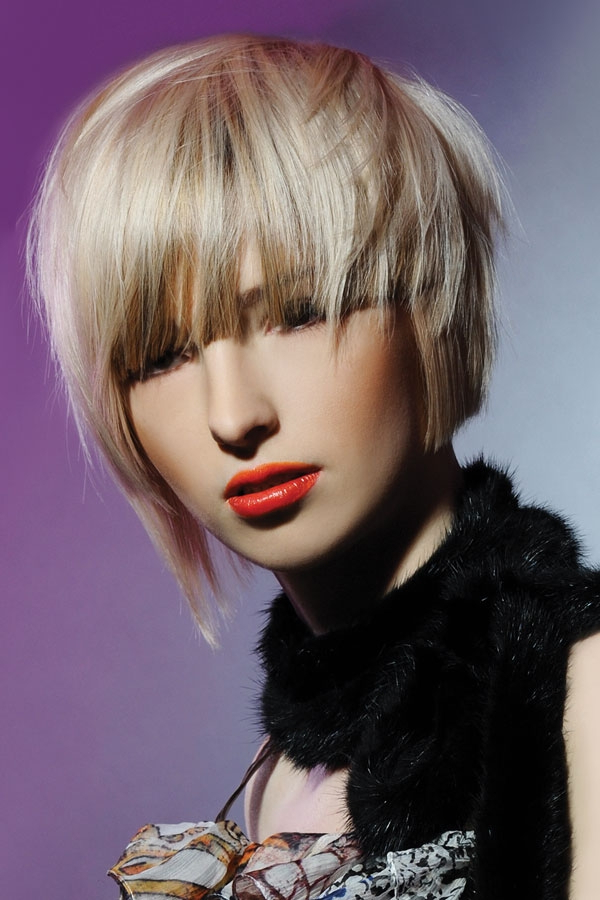 Preferred Choppy Layers Hairstyles With Face Framing For Medium Choppy Layered Haircuts (View 14 of 20)