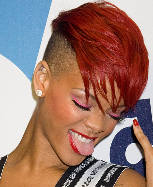 Preferred Coral Mohawk Hairstyles With Undercut Design Inside 50 Mohawk Hairstyles For Black Women (View 10 of 20)