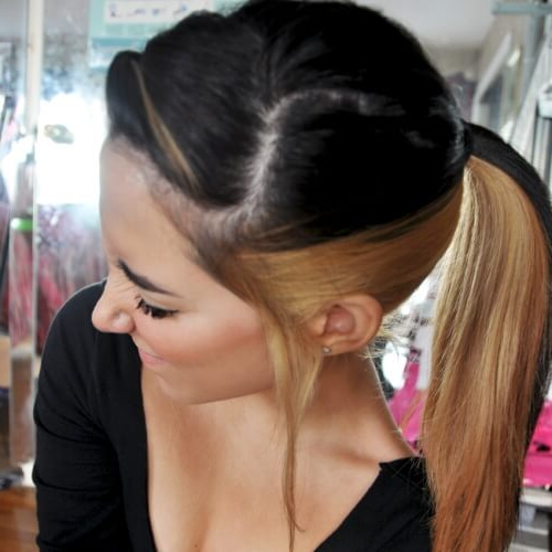 Preferred Two Tone Undercuts For Natural Hair Inside 48 Best Two Tone Hair Ideas (View 15 of 20)