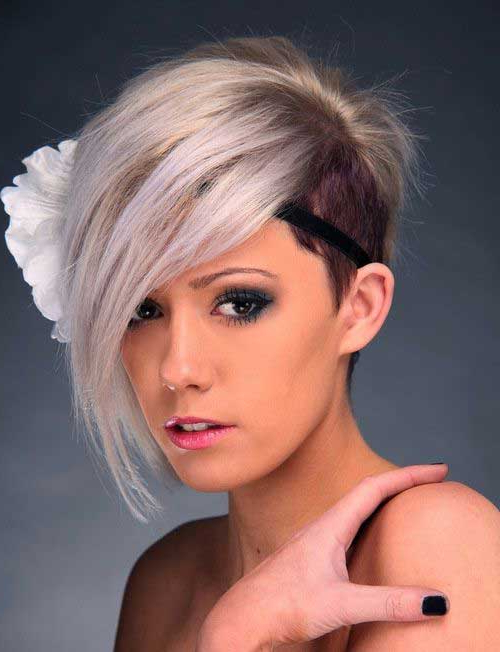Pretty And Popular Long Pixie Hairstyles | Hairstyles For Sexy Long Pixie Hairstyles With Babylights (View 6 of 20)