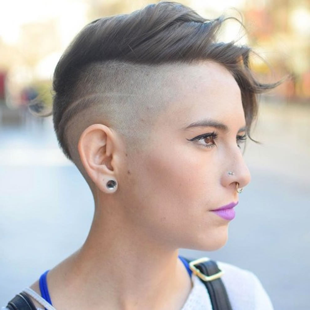 Recent Feminine Pixie Hairstyles With Asymmetrical Undercut Throughout Undercut Short Pixie Hairstyles For Ladies (2021 Update (View 3 of 20)