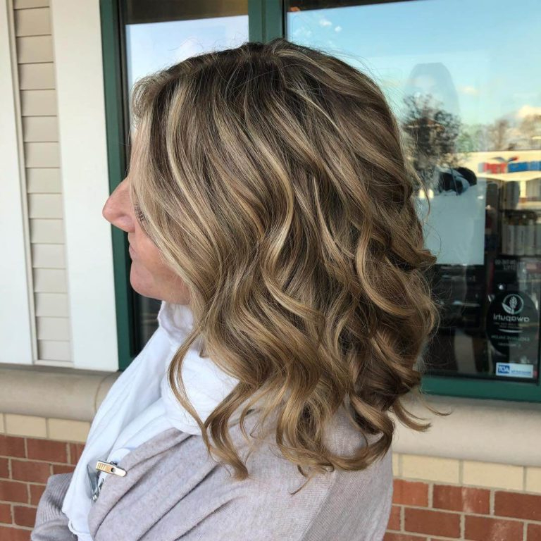 Recent Layered Ringlets Hairstyles Within 20 Fascinating Long Layered Bob Haircuts (View 7 of 20)