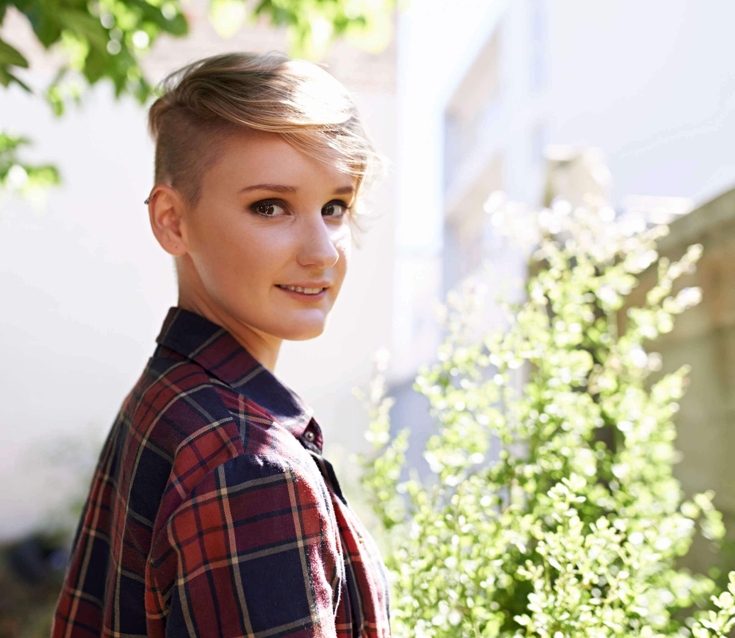 Recent Shaved Sides Pixie Hairstyles In Shaved Hairstyles For Women In  (View 4 of 20)