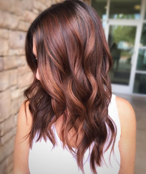 Red Balayage Hair Colors: 19 Hottest Examples For 2019 Regarding Bright Red Balayage On Short Hairstyles (View 9 of 20)