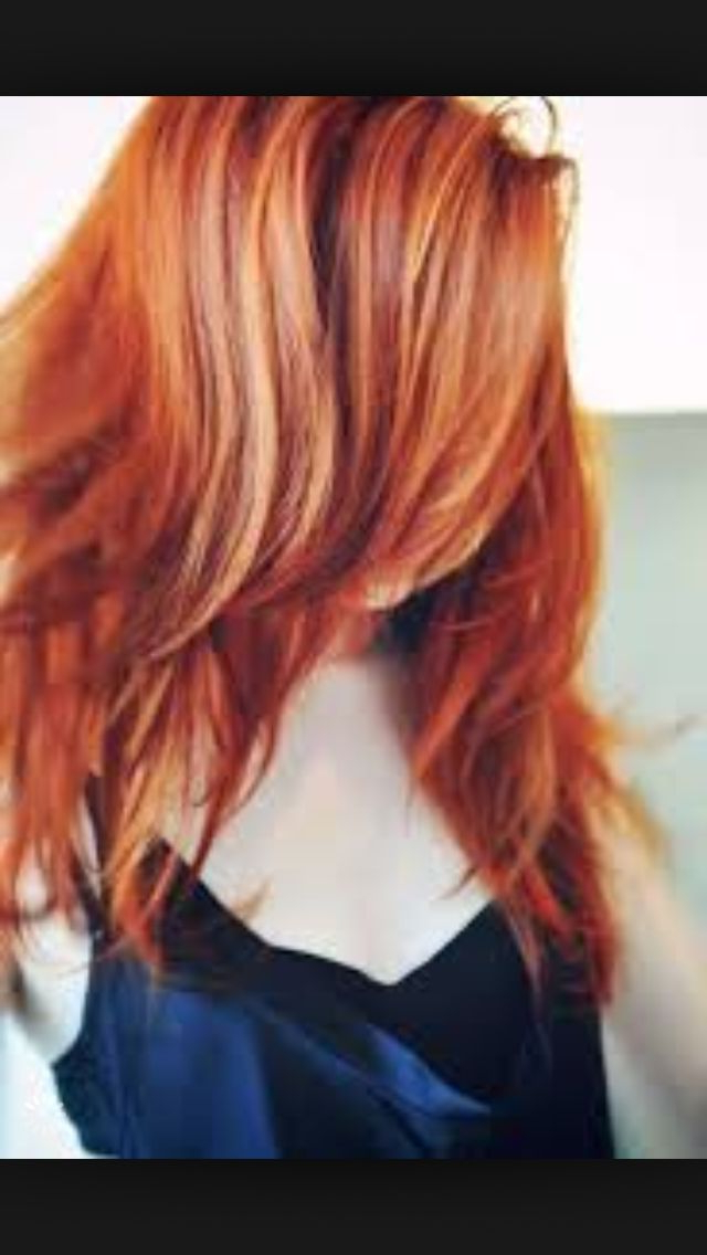 Red Hair With Highlights | Red Hair With Blonde Highlights Pertaining To Natural Brown Hairstyles With Barely There Red Highlights (View 15 of 20)