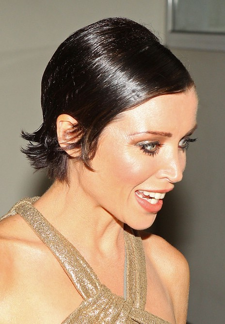Sexy, Sleek ,sassy Pixie Cut For Women – Dannii Minogue With 2018 Pixie Hairstyles With Sleek Undercut (View 7 of 20)