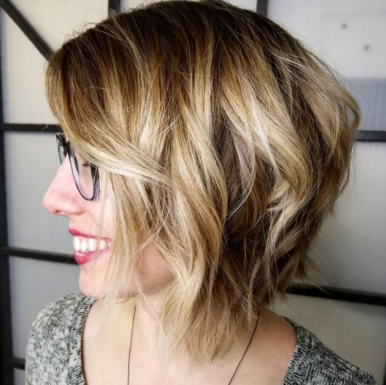 Featured Photo of Shaggy Bob Hairstyles With Face Framing Highlights