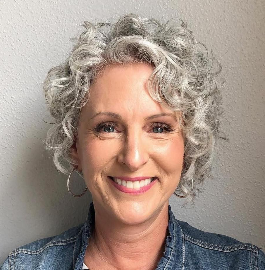 Short Curly Haircuts Intended For Most Recently Released Layered Ringlets Hairstyles (View 14 of 20)