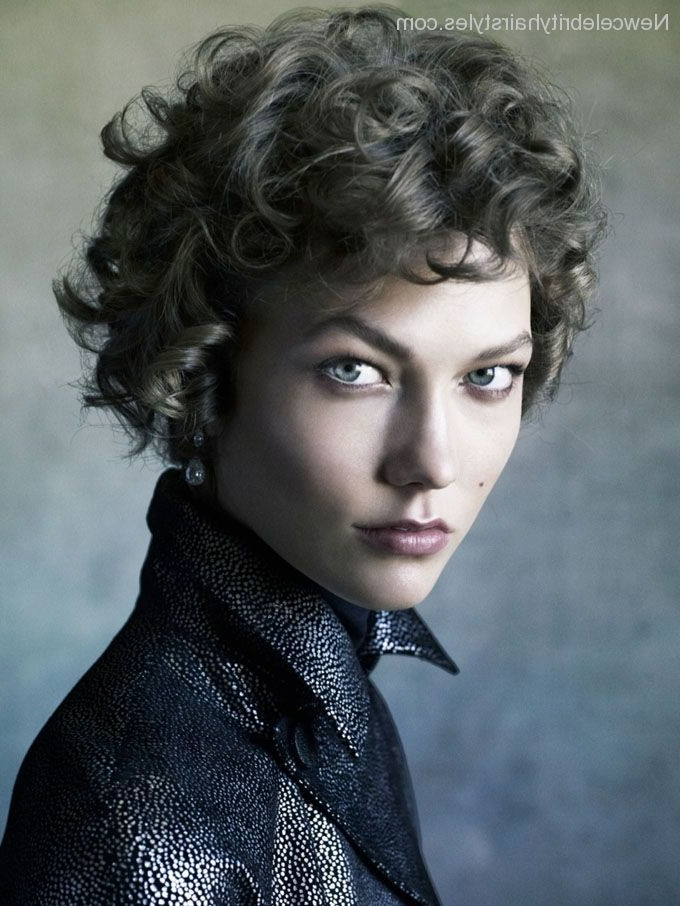 Short Curly Haircuts, Short Curly Within Recent Asymmetrical Pixie Hairstyles With Pops Of Color (View 16 of 20)