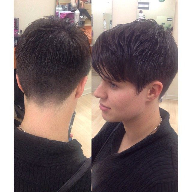 Short Hair Styles, Edgy Short Hair, Short Hair With Regard To Well Known Tapered Pixie Hairstyles With Extreme Undercut (View 12 of 20)