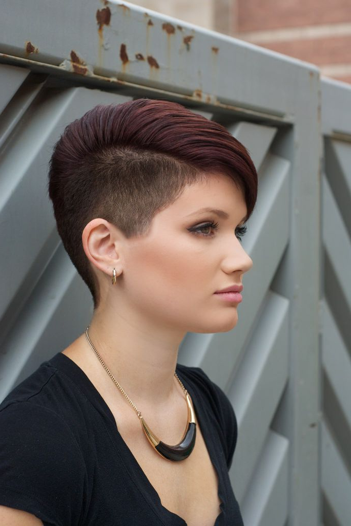 Short Hair Styles Pixie, Hair Styles, Short For 2017 Shaved Sides Pixie Hairstyles (View 1 of 20)
