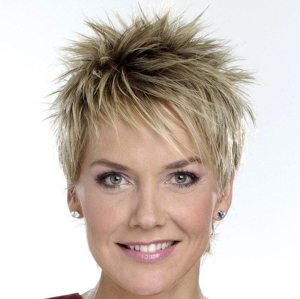 Short Inside Most Popular Spiky Short Hairstyles With Undercut (View 17 of 20)