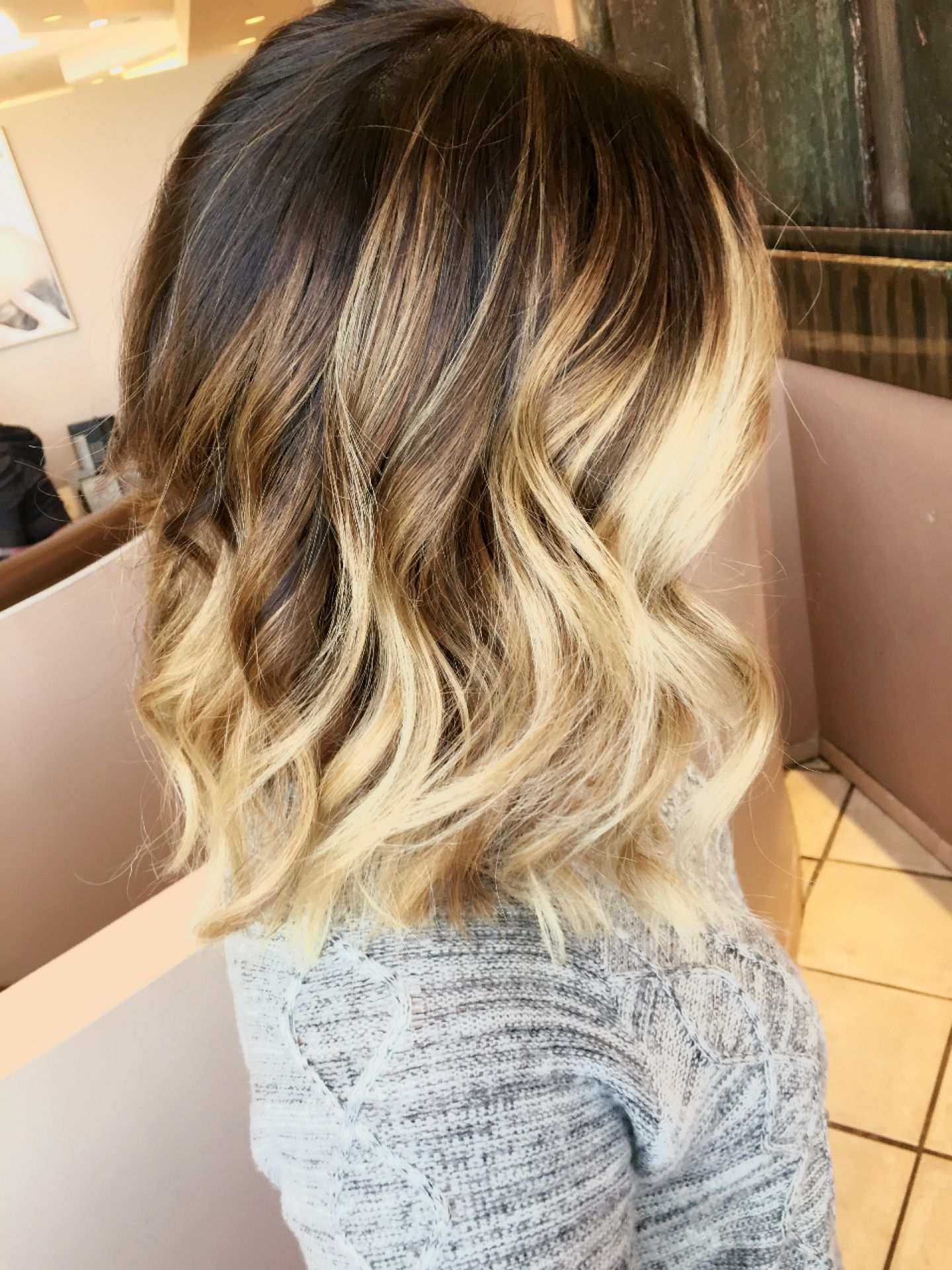 Short Ombré Blonde Hair | Blonde Ombre Short Hair, Short Within Blonde Balayage On Short Dark Hairstyles (View 7 of 20)