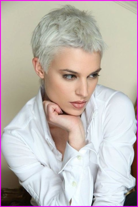 Short Pixie Cuts For Grey Hair – Short Pixie Cuts Pertaining To Famous Gray Short Pixie Cuts (View 7 of 20)