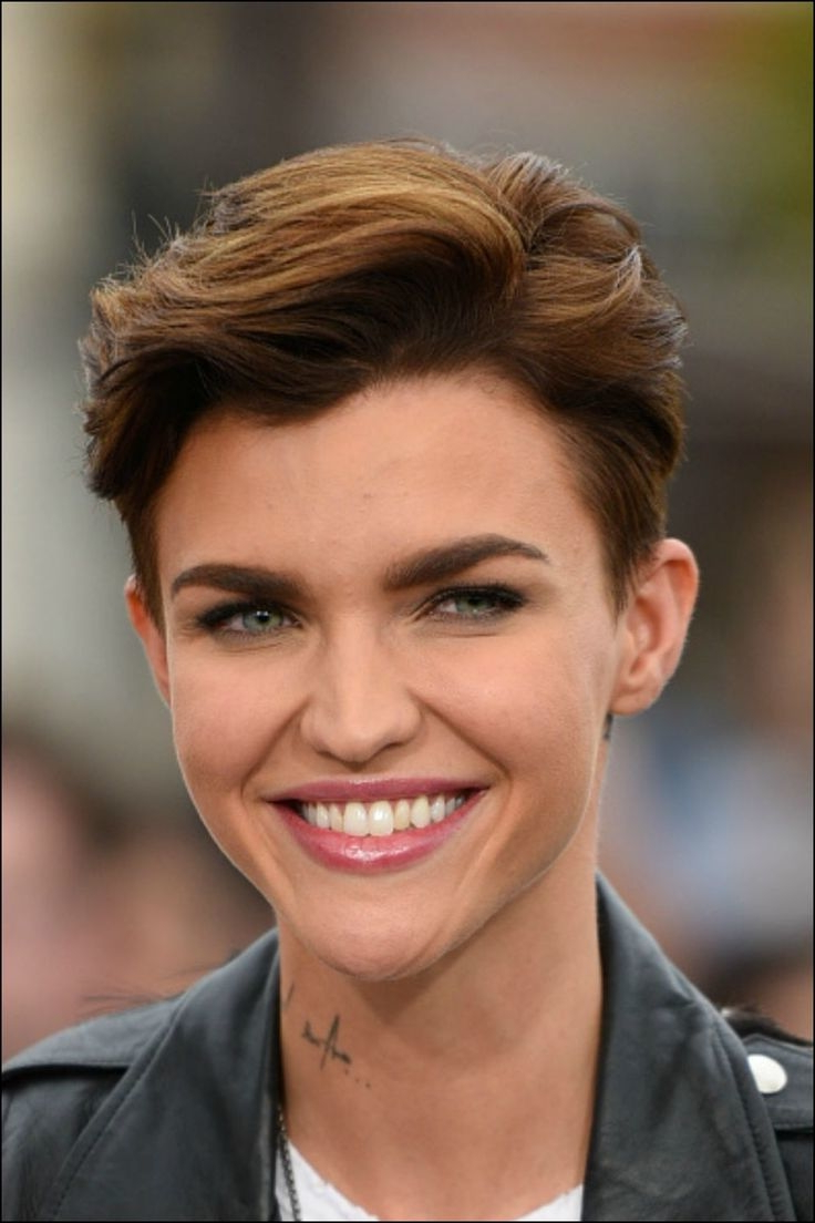 Short Pixie Haircuts For Thick Hair – Short And Cuts In Well Known Classic Undercut Pixie Haircuts (View 10 of 20)