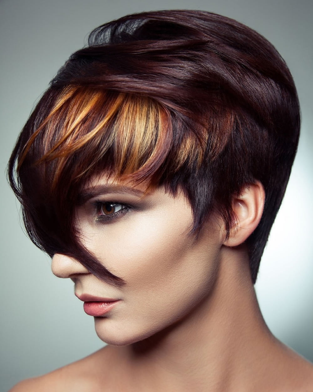 Short Pixie Haircuts With Bangs For Fine Hair 2018 2019 Regarding Most Recently Released Pixie Cut Hairstyles (View 13 of 20)