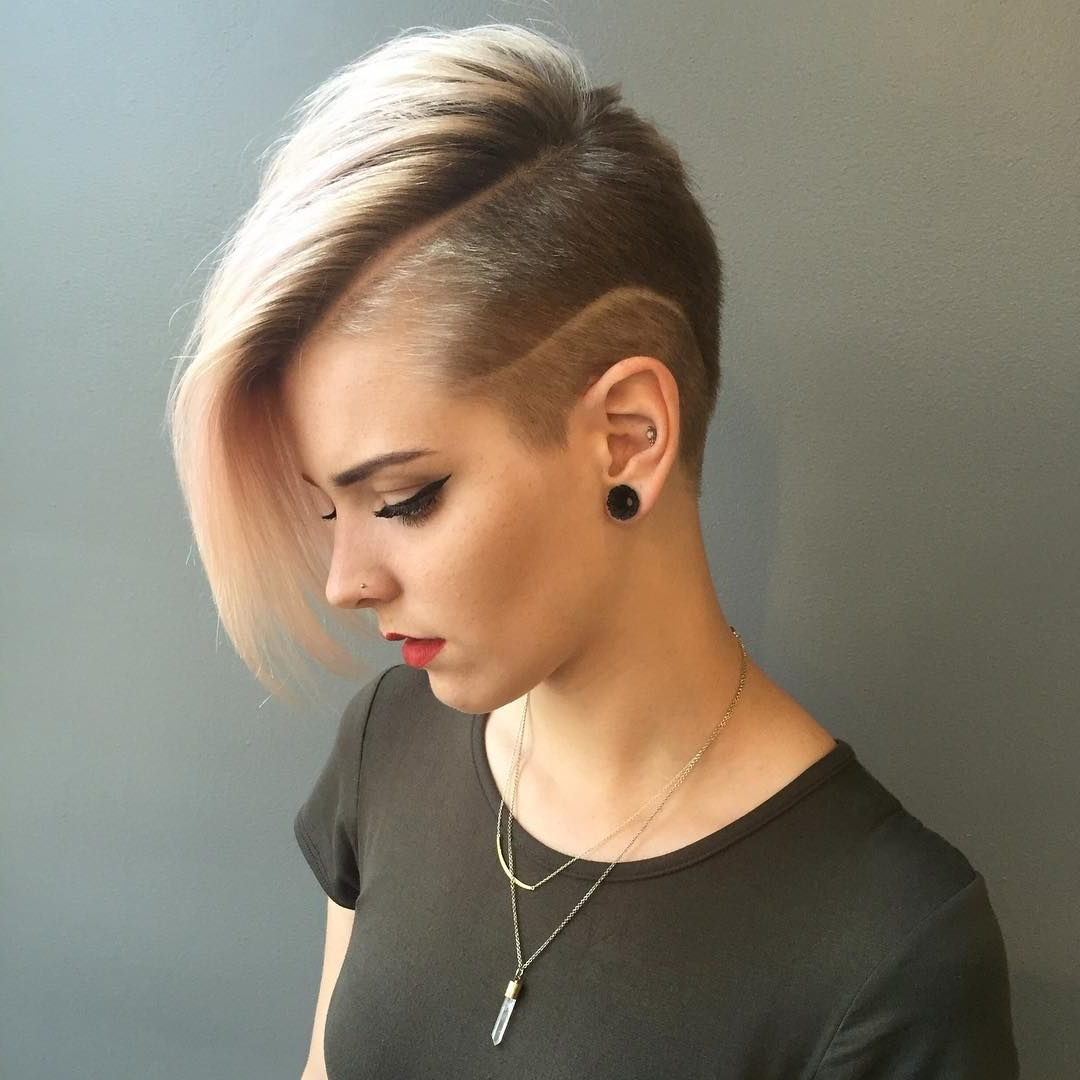 Short Shaved Intended For Favorite Shaved Sides Pixie Hairstyles (View 5 of 20)
