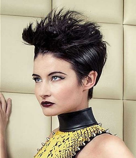 Short Spiky Hairstyles For Women Pertaining To Most Current Spiky Short Hairstyles With Undercut (View 12 of 20)