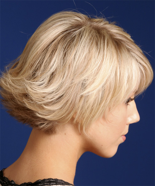Short Straight Light Strawberry Blonde Hairstyle Inside 2017 Flipped Out Bob Haircuts (View 18 of 20)