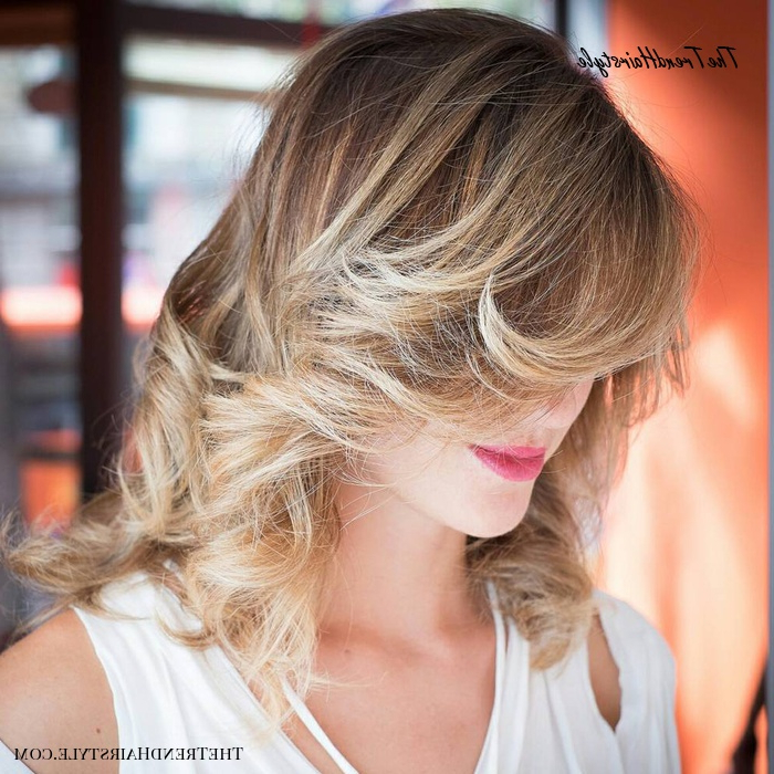 Featured Photo of Side Swept Face Framing Layers Hairstyles