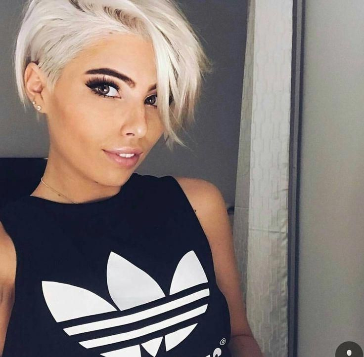 #sideswept Bangs #wavy Lob #blunt Bob #slicked Back #spiky With Regard To Well Known Edgy Undercut Pixie Hairstyles With Side Fringe (View 5 of 20)