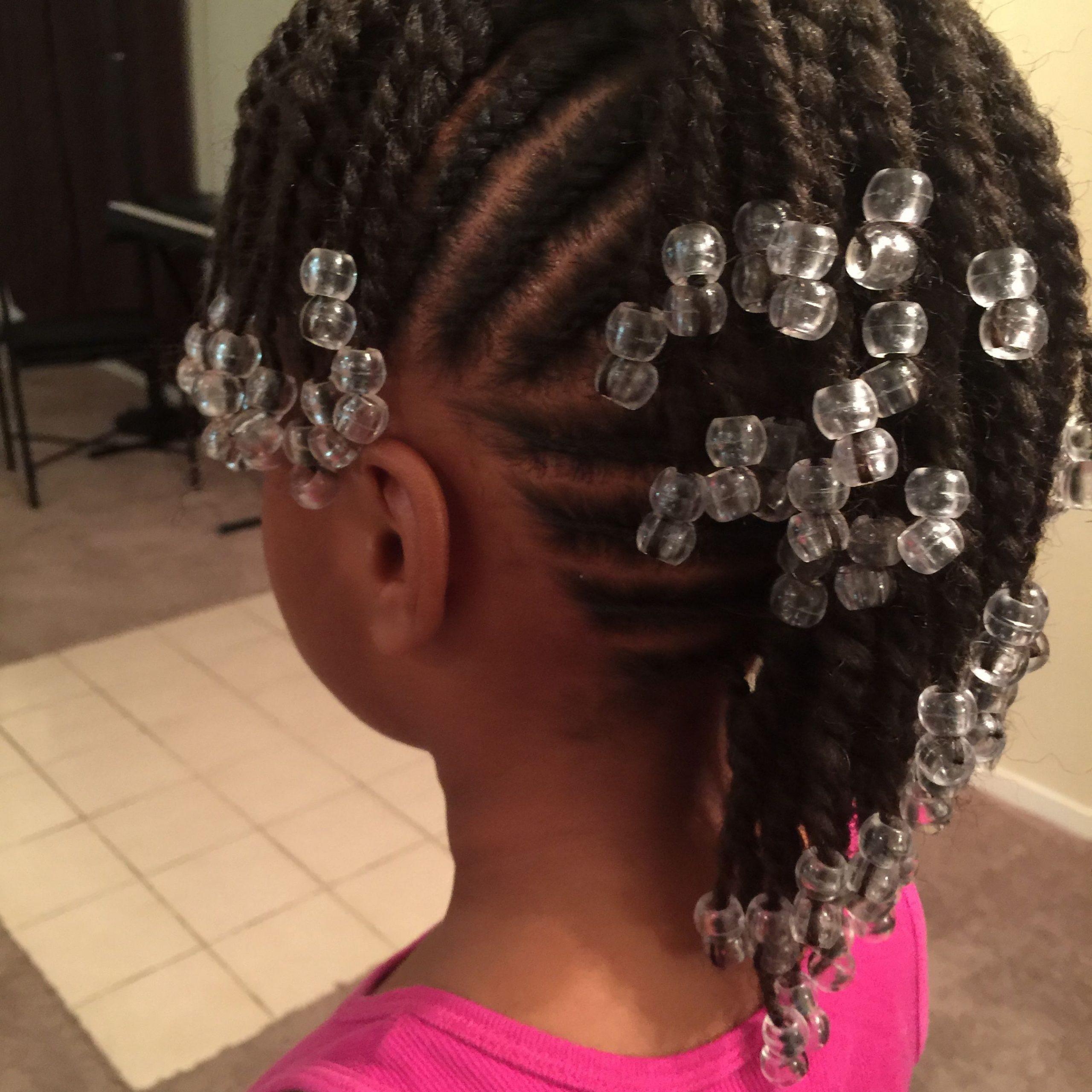 Simple Cornrows, Braids, Little Girl Braids, Black Inside Newest Tiny Braids Hairstyles (View 11 of 20)