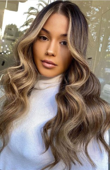 Spring Hair Color Ideas & Styles For 2021 : Cool Blonde With Regard To Half Bob Half Pixie Hairstyles With Cool Blonde Balayage (View 14 of 20)