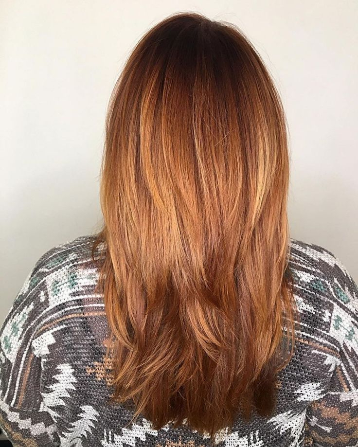 Straight Red Hair With Ombre Highlights   Balayage Intended For Bright Red Balayage On Short Hairstyles (View 7 of 20)