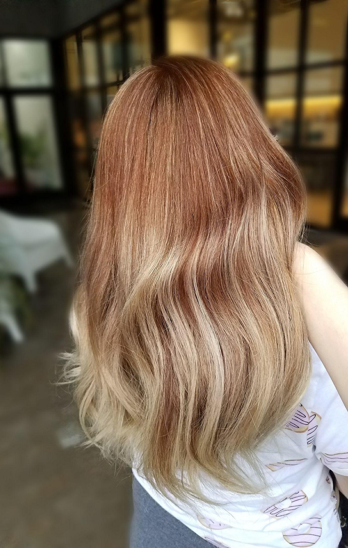 Strawberry Blonde Balayage | Blonde Balayage, Long Hair Pertaining To Strawberry Blonde Balayage Hairstyles (View 3 of 20)
