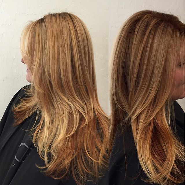Strawberry Blonde Balayage Ombre | Best Hair Salon, Blonde In Strawberry Blonde Balayage Hairstyles (View 11 of 20)