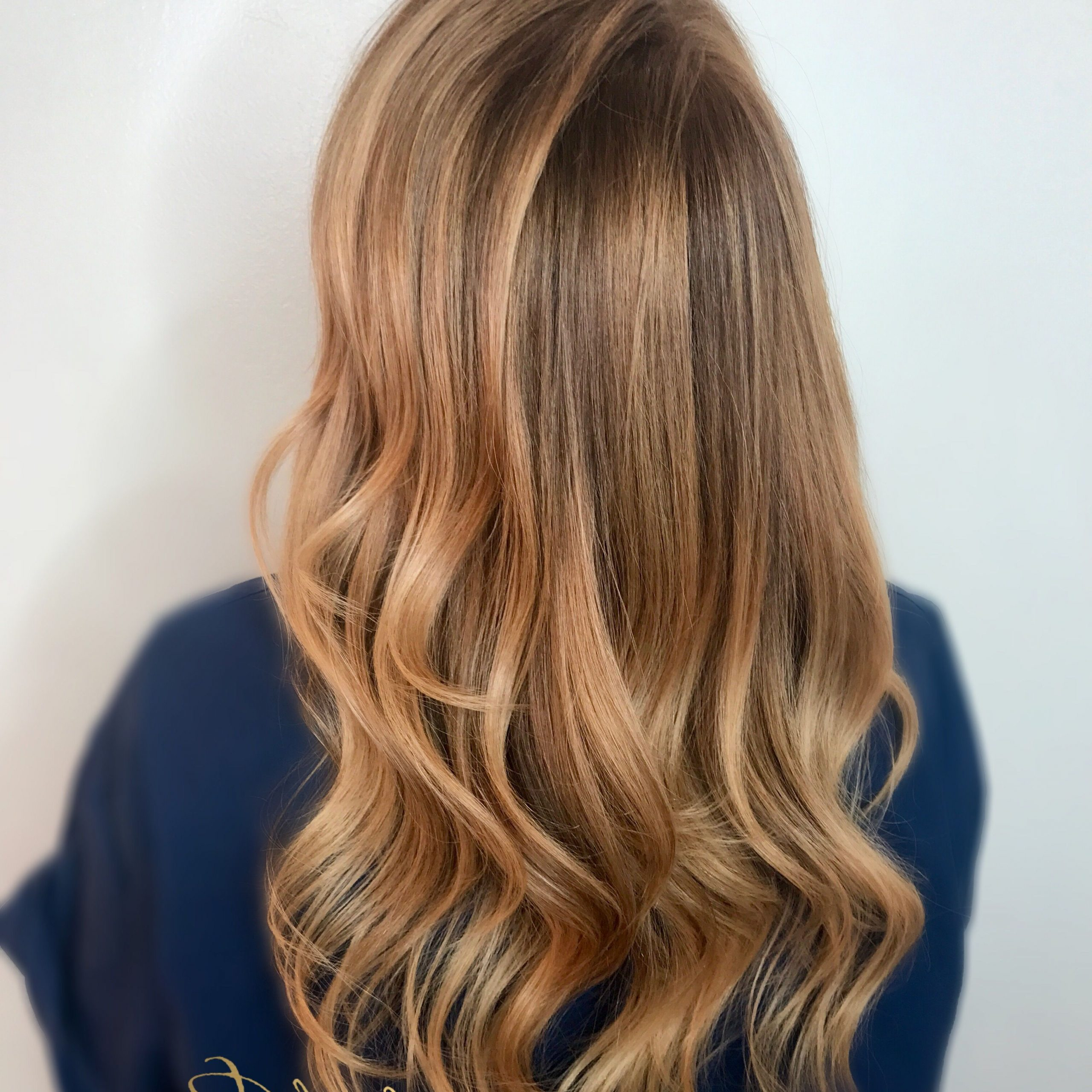 Strawberry Blonde Balayage On Long Hair And Layers Inside Strawberry Blonde Balayage Hairstyles (Gallery 1 of 20)