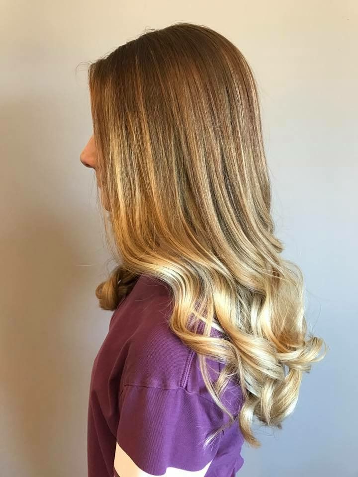 Strawberry Blonde To Blonde Ombré   Blonde Ombre For Marsala To Strawberry Blonde Ombre Hairstyles (View 8 of 20)