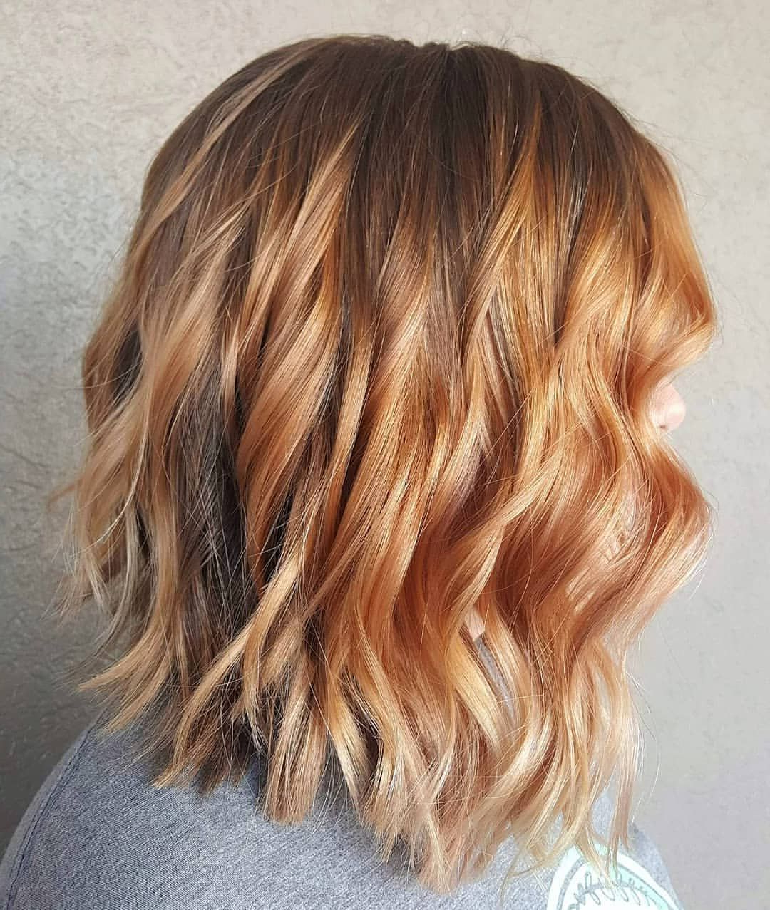 Strawberry Blondes Have More Fun! Balayagerebekah Within Marsala To Strawberry Blonde Ombre Hairstyles (View 12 of 20)