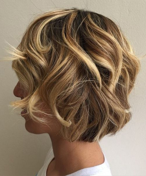 Stunning Curly Bob With Dimensional Highlights With Layers Intended For Layered Dimensional Hairstyles (View 17 of 20)