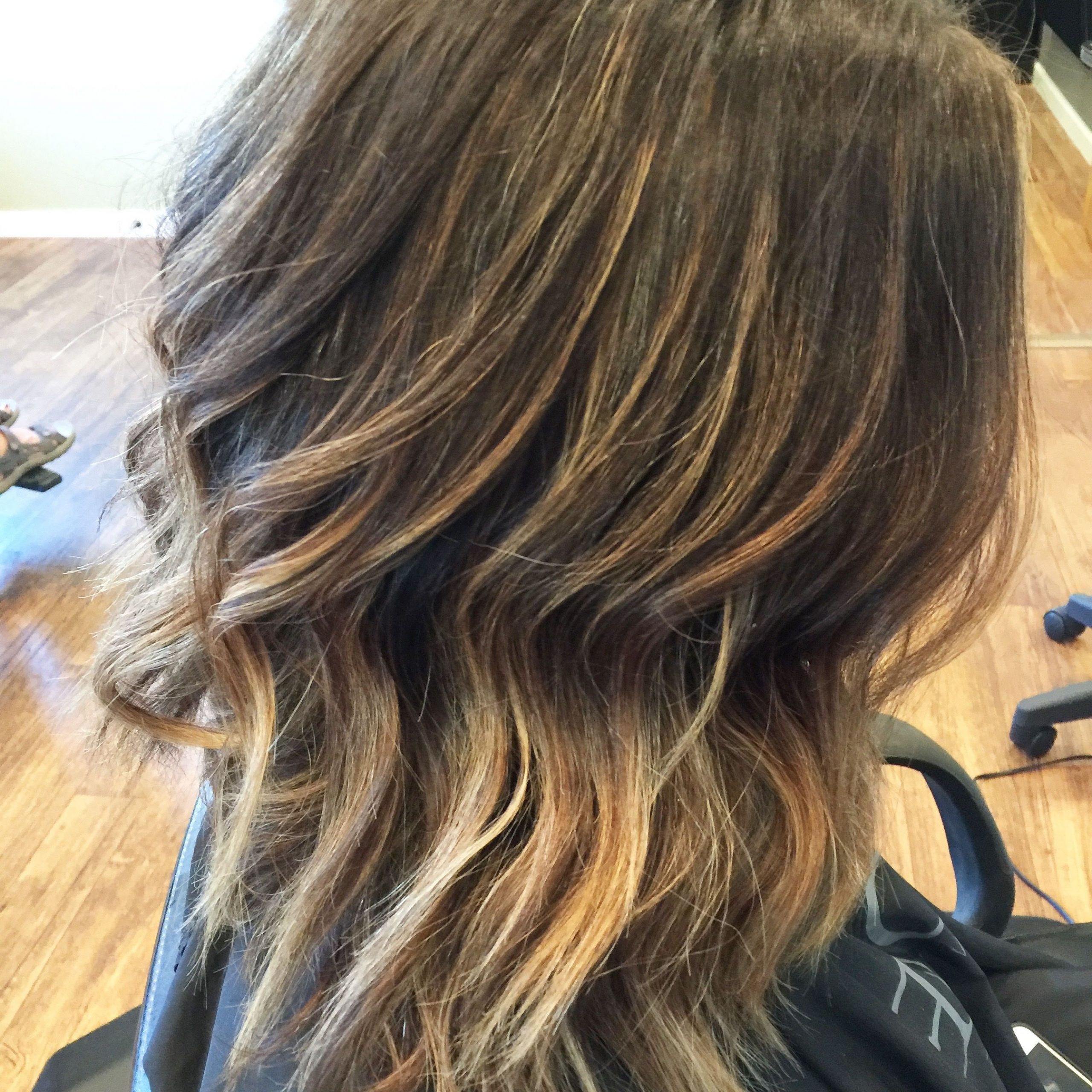 Sun Kissed Balayage – Short Hair – Brunette – Loose Curls With Short Sun Kissed Hairstyles (View 9 of 20)
